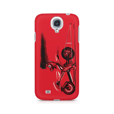 RED JET - Samsung S4   Mobile Cover