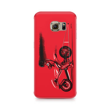 RED JET - Samsung S6 Edge G9250 | Mobile Cover