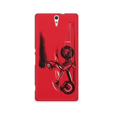 RED JET - Sony Xperia C5 | Mobile Cover