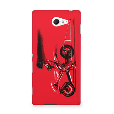 RED JET - Sony Xperia M2 S50h | Mobile Cover