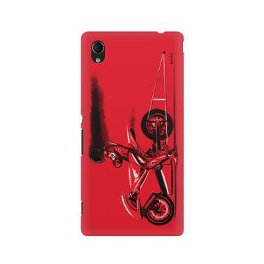 RED JET - Sony Xperia M4 | Mobile Cover