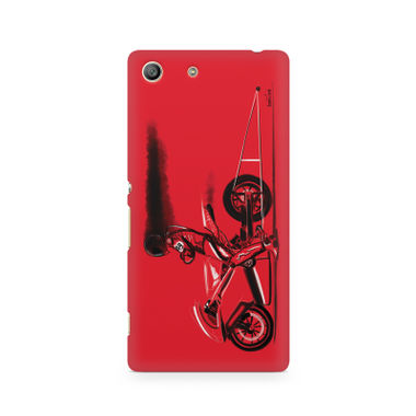 RED JET - Sony Xperia M5 | Mobile Cover