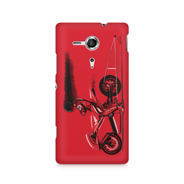 RED JET - Sony Xperia SP M35H   Mobile Cover