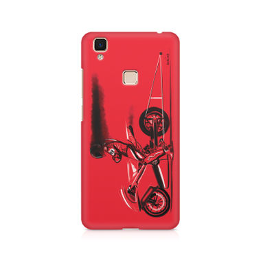 RED JET - Vivo V3 Max | Mobile Cover