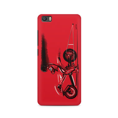 RED JET - Xiaomi Redmi 5 | Mobile Cover