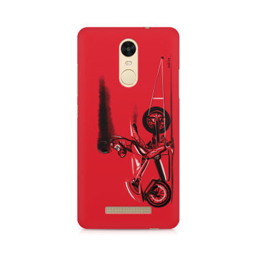 RED JET - Xiaomi Redmi Note 3 | Mobile Cover