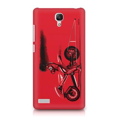 RED JET - Xiaomi Redmi Note | Mobile Cover