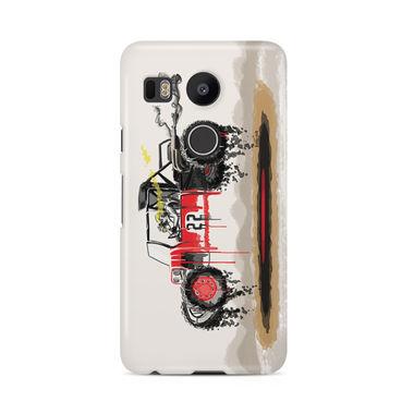 RED SANDER - LG Nexus 5X | Mobile Cover