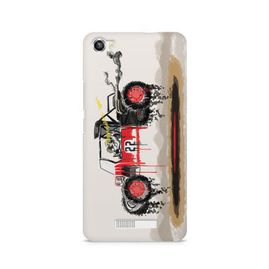 RED SANDER - Lava Iris X8 | Mobile Cover
