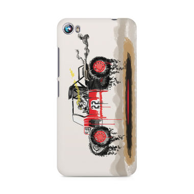RED SANDER - Micromax Canvas Fire 4 A107 | Mobile Cover