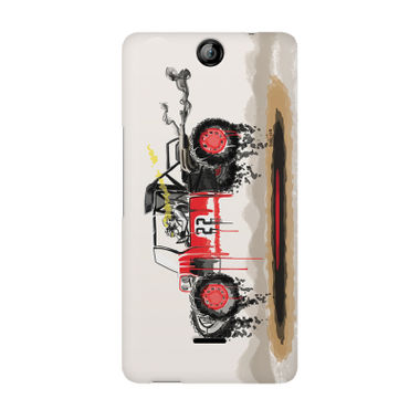 RED SANDER - Micromax Canvas Juice 3 Q392 | Mobile Cover