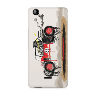 RED SANDER - Micromax Canvas Selfie 2 Q340 | Mobile Cover