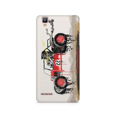 RED SANDER - Oppo F1 | Mobile Cover