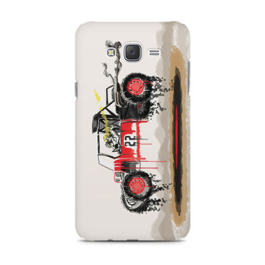 RED SANDER - Samsung J1 2016 Version | Mobile Cover