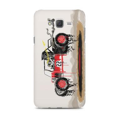 RED SANDER - Samsung J7 2016 Version | Mobile Cover