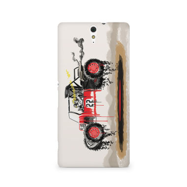RED SANDER - Sony Xperia C5 | Mobile Cover