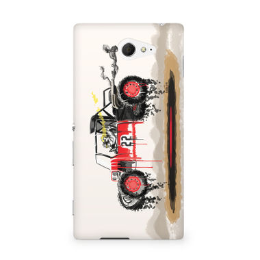 RED SANDER - Sony Xperia M2 S50h | Mobile Cover