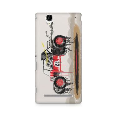 RED SANDER - Sony Xperia T2 | Mobile Cover