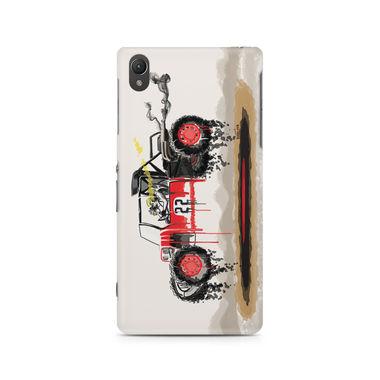 RED SANDER - Sony Xperia Z2 L50W | Mobile Cover