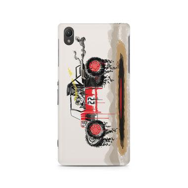 RED SANDER - Sony Xperia Z5 | Mobile Cover