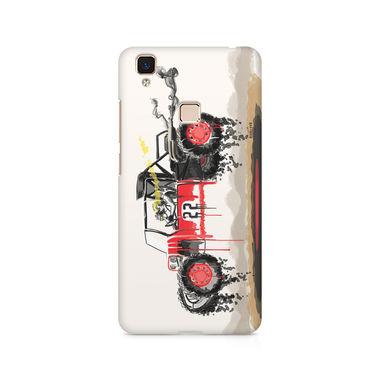RED SANDER - Vivo V3 Max | Mobile Cover