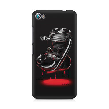 RE HEART - Micromax Canvas Fire 4 A107 | Mobile Cover