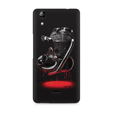 RE HEART - Micromax Canvas Selfie 2 Q340 | Mobile Cover