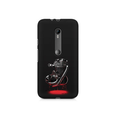 RE HEART - Moto X Force | Mobile Cover
