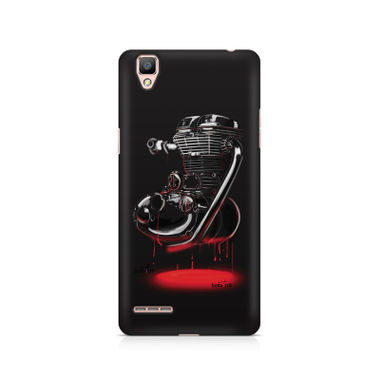 RE HEART - Oppo F1 | Mobile Cover