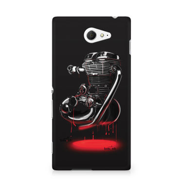 RE HEART - Sony Xperia M2 S50h | Mobile Cover