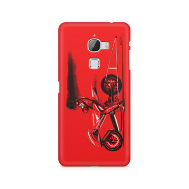 Red Jet - LeEco Le Max | Mobile Cover
