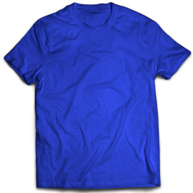 Classic Royal Blue Plain T-Shirt