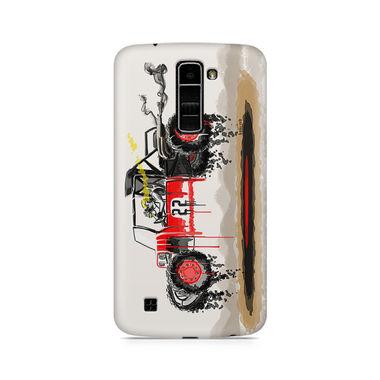 Red Sander - LG K10   Mobile Cover