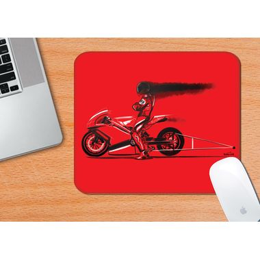 RED JET | ARTIST: HAMERRED49 | Mouse Pad