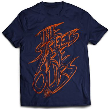 Streets - Navy Blue | Tshirt