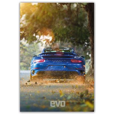 Porsche_blue   Poster