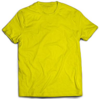 Classic Yellow Plain T-Shirt