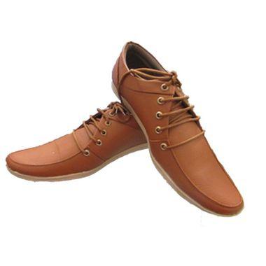 Rock Tan Lace Up Shoes