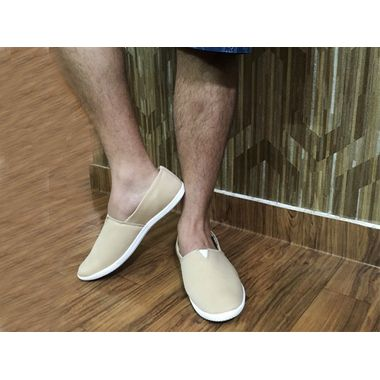 Trendy Creme Loafers