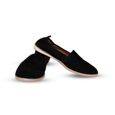 Black Loafer Shoe