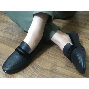 Black Penny Shoes