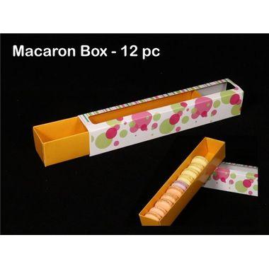 Macaron Box (12 Cavities) - Pack of 5pcs