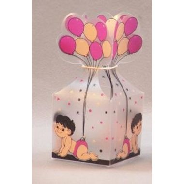 Baby Box with Balloon - Small (Pack of 10pcs)