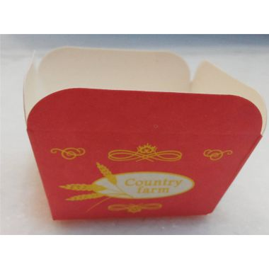 Red Square Cup Cake Liner (pack of 25)