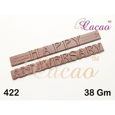 Happy Anniversary 4 - Chocolate Mould