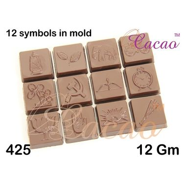 12 signs - Chocolate Mould