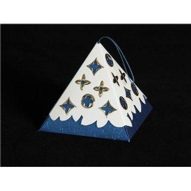 Blue Triangle Box (Pack of 5pcs)