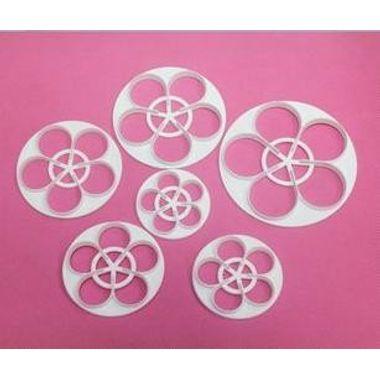 Rose Cutter (set of 6 pcs)