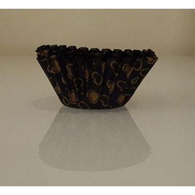 Brown mini chocolate liner (50 pcs)