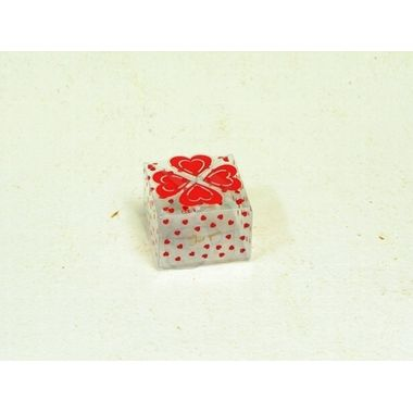 Heart Print Box (pack of 10)